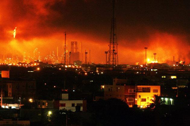 Eugenia Sader otorga lista de los 24 fallecidos por explosión de refinería de Amuay (fotos y videos)