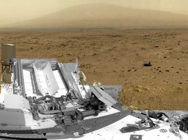 Curiosity-made image combined of 900 images