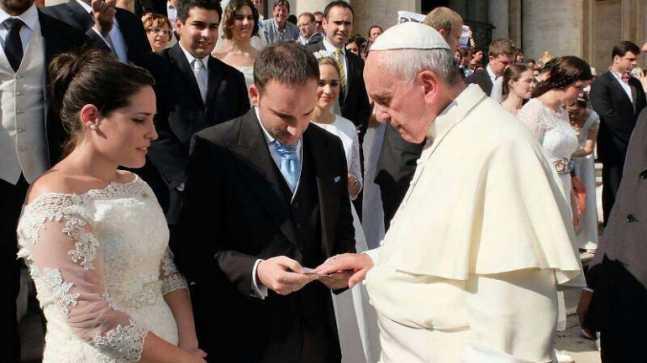 Por primera vez, un papa festejará a San Valentín