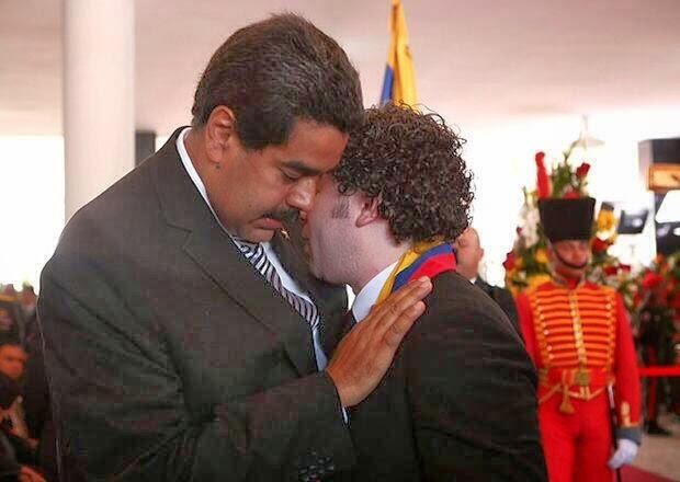 Dudamel y Maduro