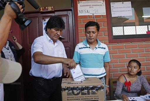 Más de 7 millones de bolivianos votan este 20-O