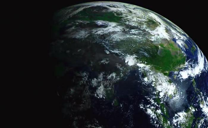 Sorprendente timelapse del planeta tierra (Video)