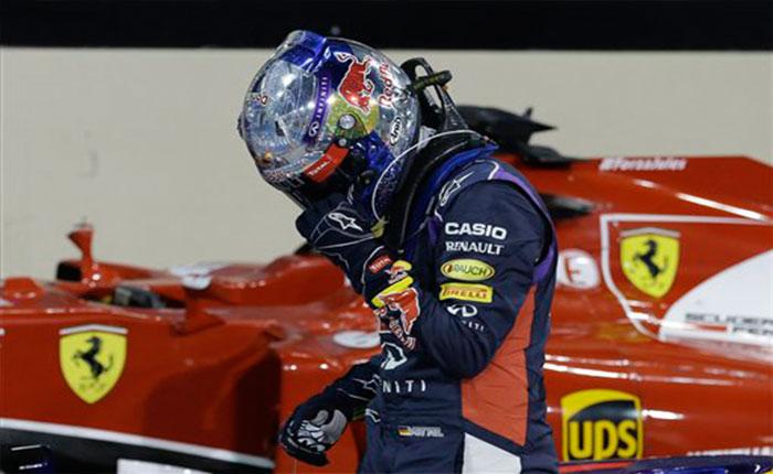 Vettel y Ferrari se enfrentan a dura reconstrucción