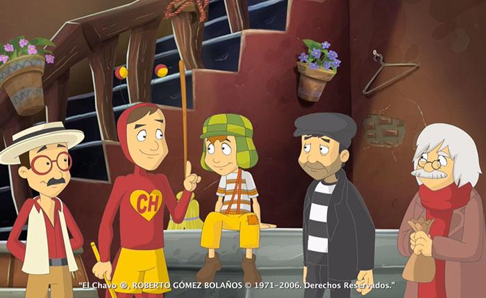 "Personajes animados de ""Chespirito"" se despidieron de él (Video)"