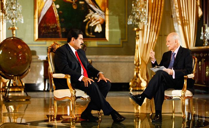 Las claves de la entrevista de JV Rangel a Nicolás Maduro