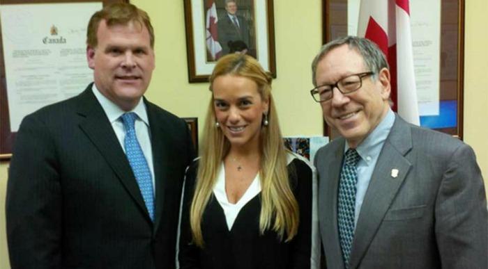 Parlamento de Canadá pide a Maduro liberación de Leopoldo López y Daniel Ceballos