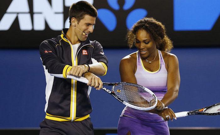 Djokovic y Serena tenistas del año