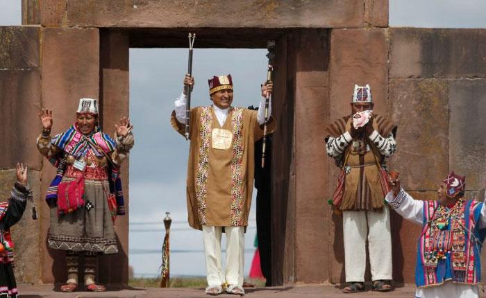 Evo Morales asume su tercer mandato en Bolivia