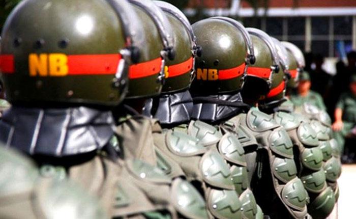 15 guardias detenidos por robo de un fusil