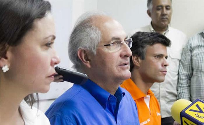 Acuerdo Nacional para la Transición: Este es el comunicado por el que el SEBIN se llevó a Ledezma