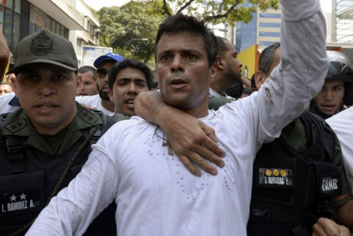 """Propuesta de canje convierte a Leopoldo López en """"preso político"""""""