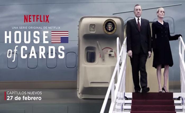 Netflix presenta: afiche oficial de la tercera temporada de House of Cards