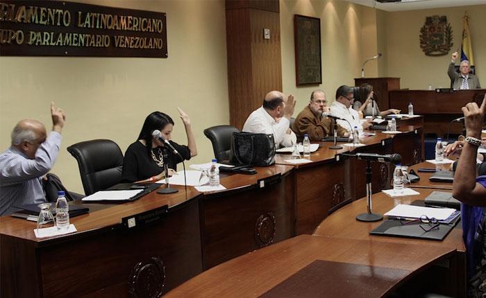 La Unidad Democrática del parlatino suscribe acuerdo en rechazo a detención de Ledezma