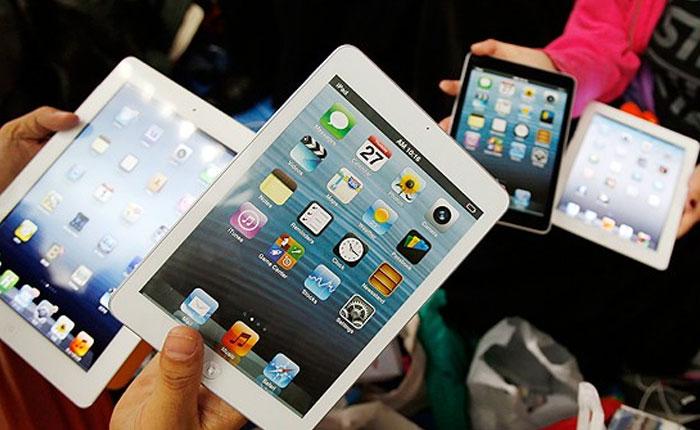 Las tabletas experimentan su primer descenso desde su llegada al mercado