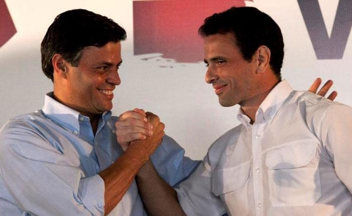 La posición Capriles y la posición López por Gustavo Coronel