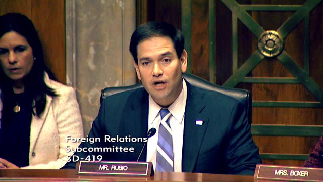 En audiencia del Senado de EE UU señalan a gobierno de Venezuela de lavar dinero y financiar terrorismo