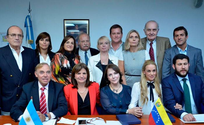 Diputados argentinos se solidarizan con Antonio Ledezma y Leopoldo López
