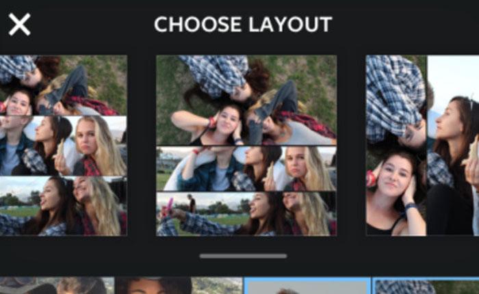 Instagram lanza su propia aplicación de collages