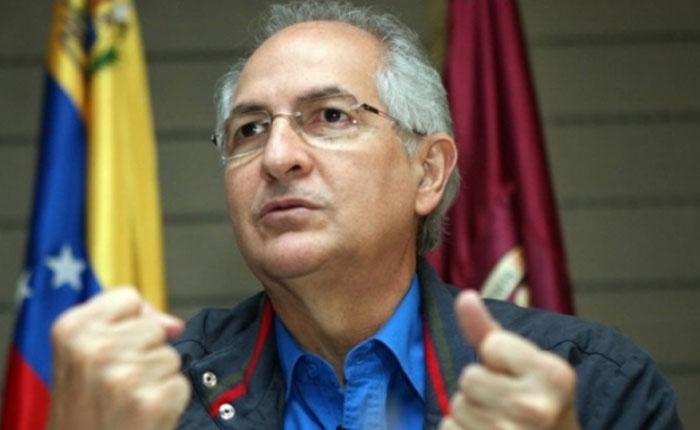 Fiscalía venezolana acusa formalmente a Antonio Ledezma por el delito de conspiración
