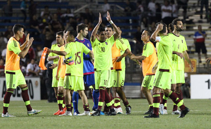 Venezuela venció 1-0 a Perú con gol de Josef Martínez