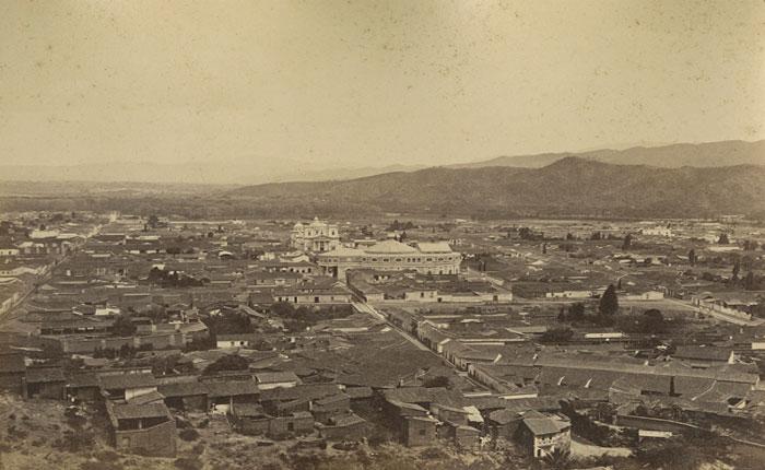 Hermosas vistas de la Caracas de 1880