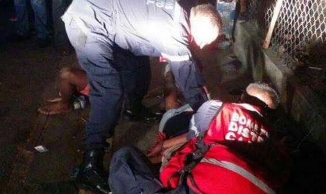 FOTOS Linchan a cuatro hombres en Lomas del Ávila luego de que intentaron robar a mujer con un bebé
