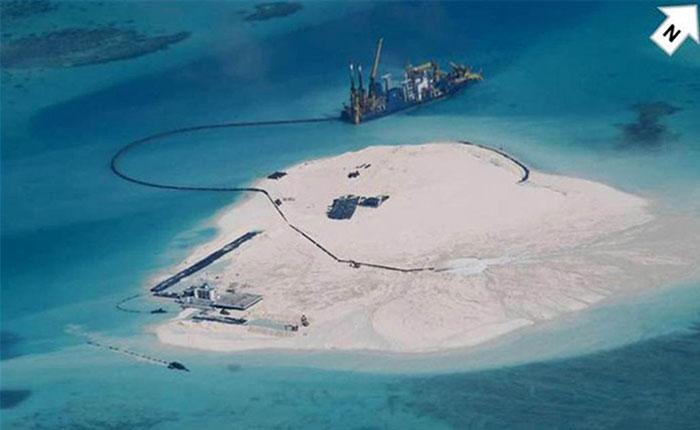 China está creando estas islas artificiales para crear bases militares y sus vecinos están preocupados