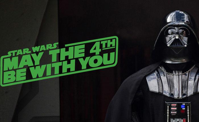 Feliz Día de Star Wars: #MayThe4thBeWithYou