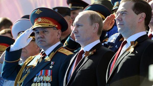 Rusia conmemora los 70 años del final de la Segunda Guerra Mundial
