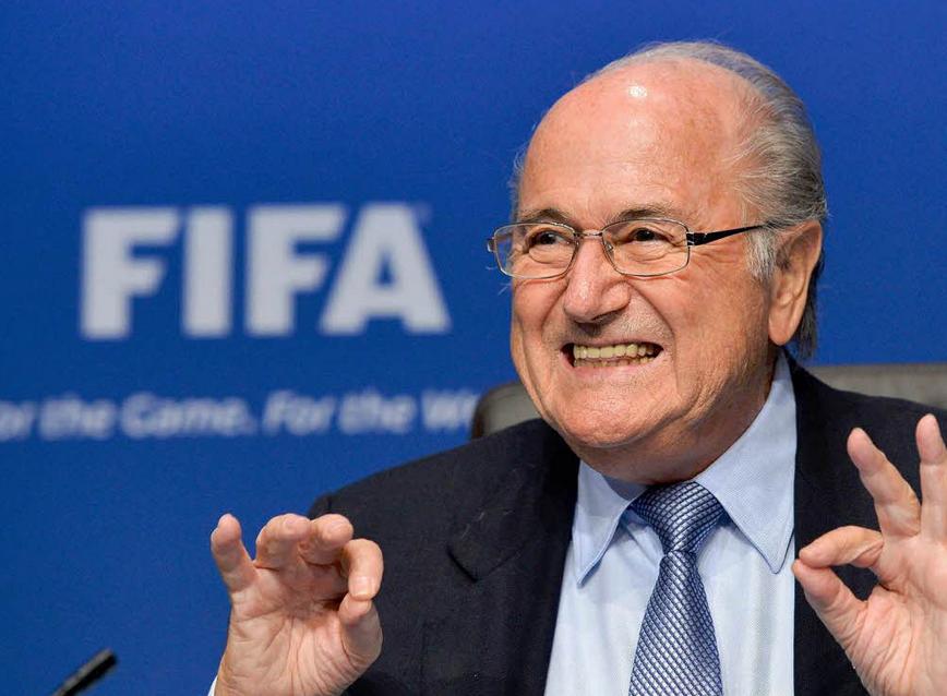 Blatter declaró a periódico suizo que no será candidato a presidencia de FIFA