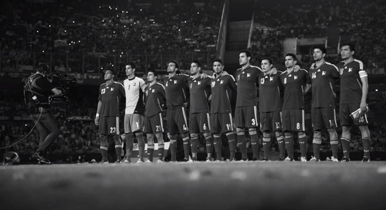 Este es el nuevo vídeo de La Vinotinto para la Copa América: #90MinutosUnSoloEquipo