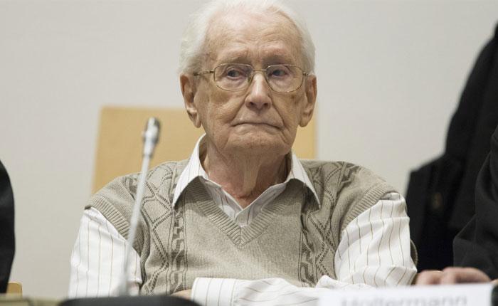 Condena de 4 años para el contador de Auschwitz