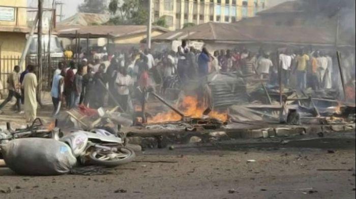 Al menos 14 muertos en un atentado suicida en Nigeria