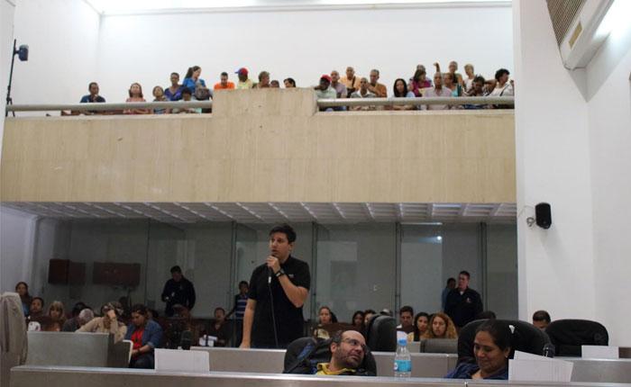 Concejal Jesús Armas pide interpelar a alcalde Jorge Rodríguez