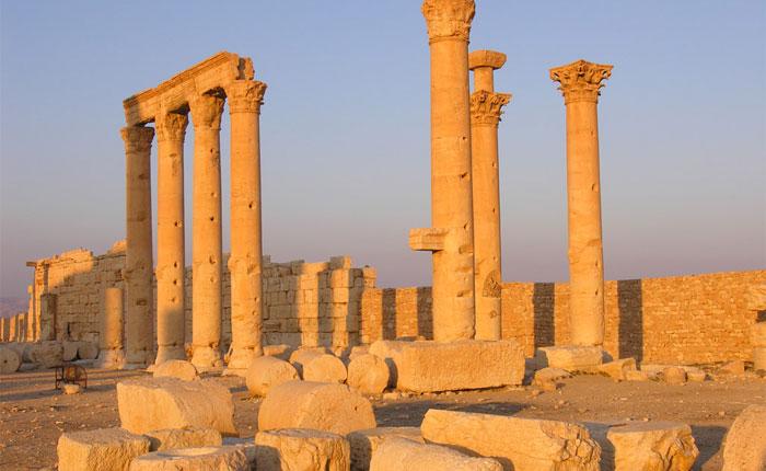 Estado Islámico destruye histórico templo en Palmira