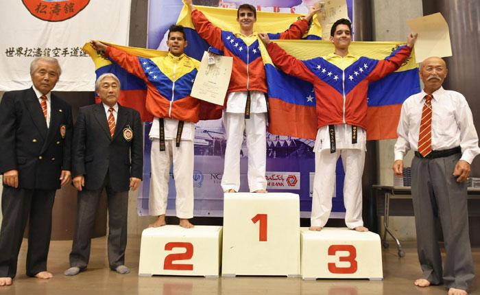 Venezuela hace Historia en el XII Campeonato Mundial de Shotokan