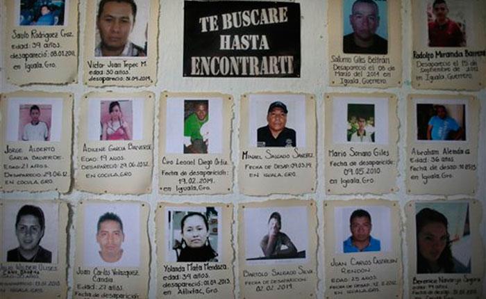 A la sombra de los 43, muchos más han desaparecido en México
