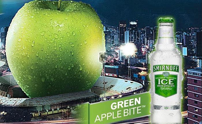 Smirnoff presentará en Venezuela su nuevo sabor: manzana verde