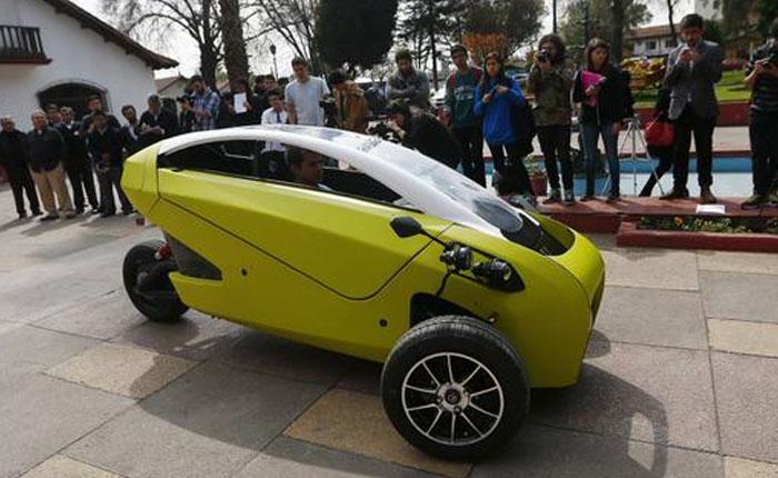 Sôki: El primer auto eléctrico chileno costará 12 mil dólares