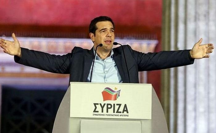 Tsipras prepara la composición de su gabinete ministerial