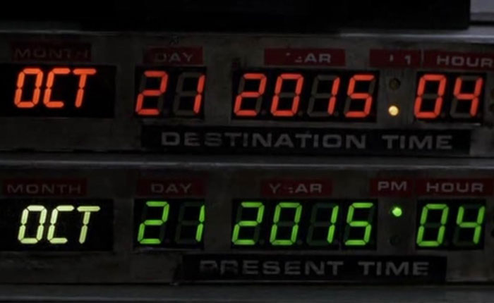 "#21O 2015: El día de ""Back to the Future"""