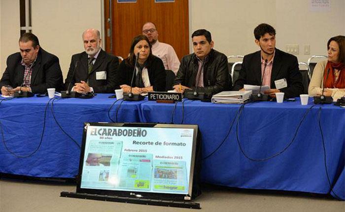 CIDH pide visitar Venezuela para constatar situación del derecho a la libertad de expresión
