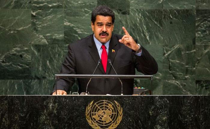 Maduro en la ONU por Carlos Nieto Palma
