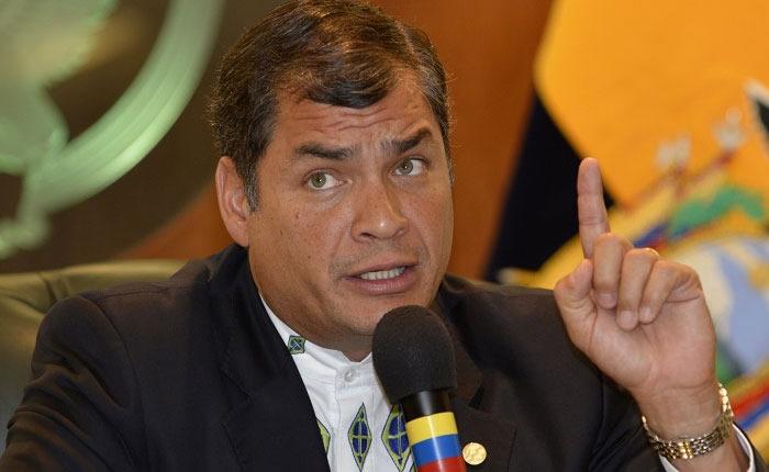 Rafael Correa es imputado por un crimen de Estado de hace seis años