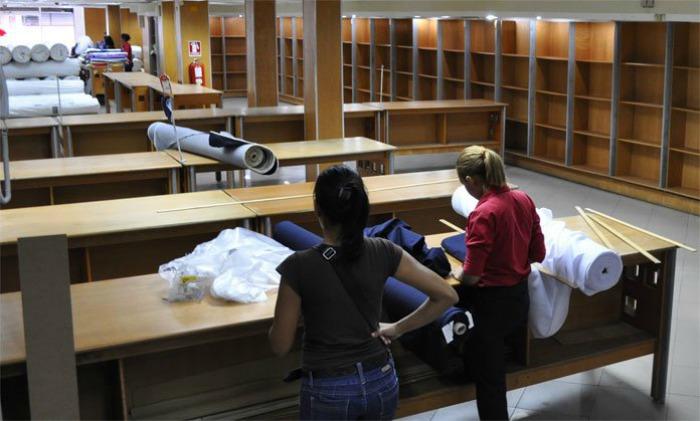 Producción textil en Venezuela disminuyó 50%