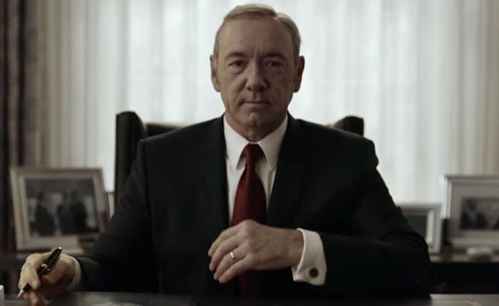 Cuarta temporada de House of Cards se estrenará el 4 de marzo en Netflix