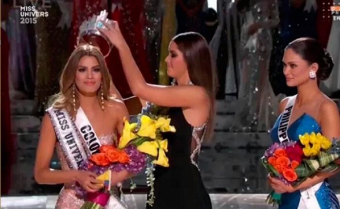 El balde de agua fría que entumeció al Miss Universo 2015