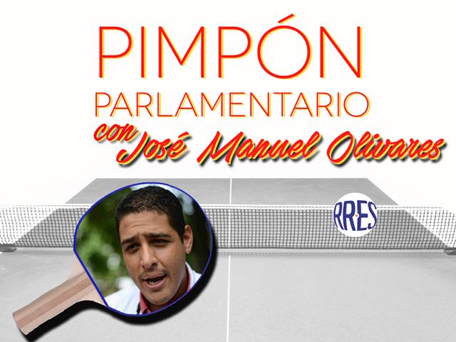 Pimpón parlamentario con José Manuel Olivares