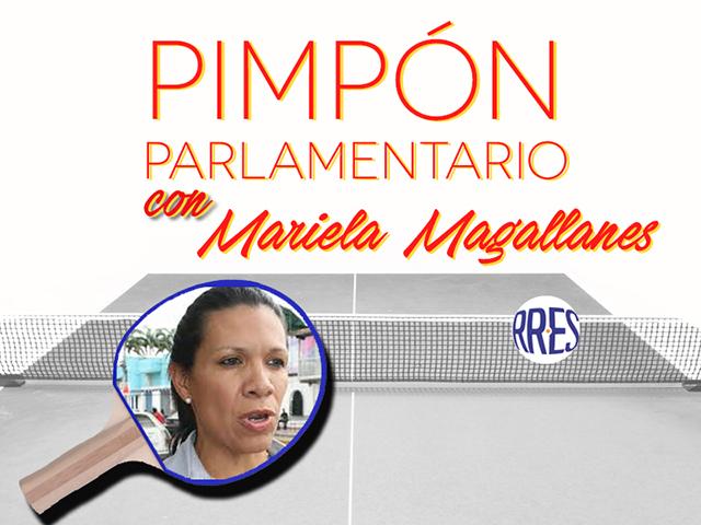 Pimpón parlamentario con Mariela Magallanes