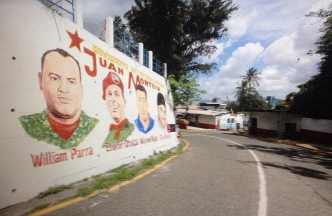 mural en colectivo 5 de marzo